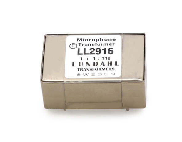【受注オーダー品】Lundahl (ルンダール) LL2916 マイクロフォン用トランス