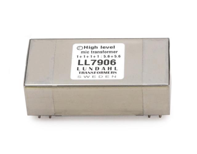 【受注オーダー品】 Lundahl (ルンダール) LL7906 マイクロフォン用トランス