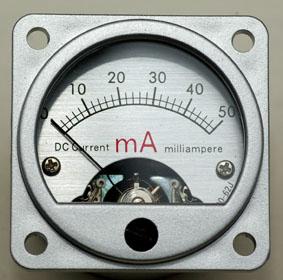 MI-50 山本音響工芸 50mA電流計 メーターユニット