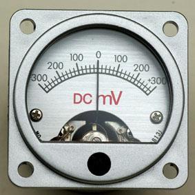 MV±300 山本音響工芸 センター0電圧計 メーターユニット