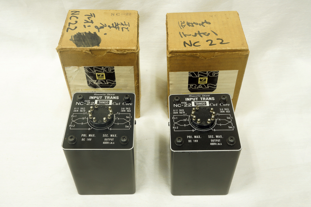 NC-22 TANGO インプットトランス/ペア