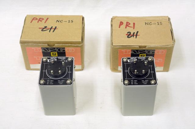 NC-15 TANGO インプットトランス/ペア