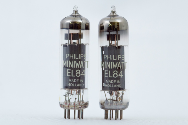 EL84 PhilipsMiniwatt マッチドペア