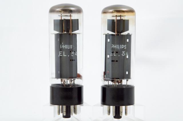 EL34 Philips マッチドペア