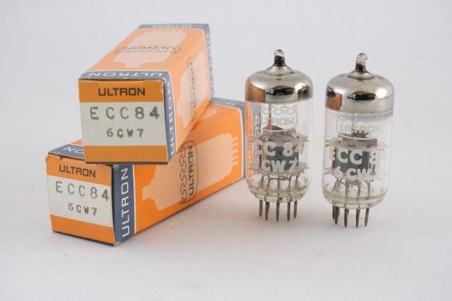 ECC84/6CW7 ULTRON  2本1組