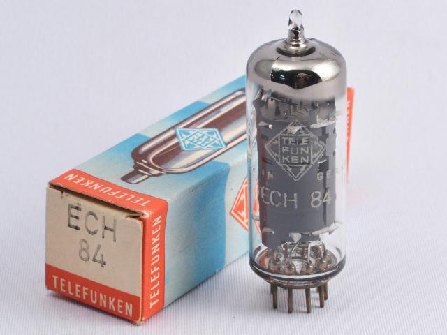 ECH84 Telefunken/本 元箱 新品 ◇マークあり