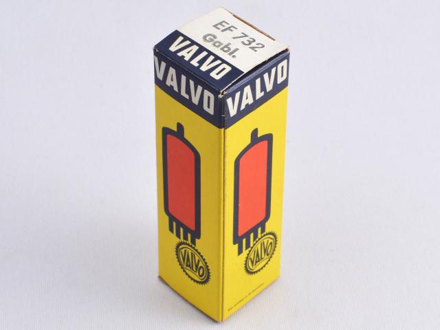 EF732 Valvo/本 サブミニチュア管 元箱 新品