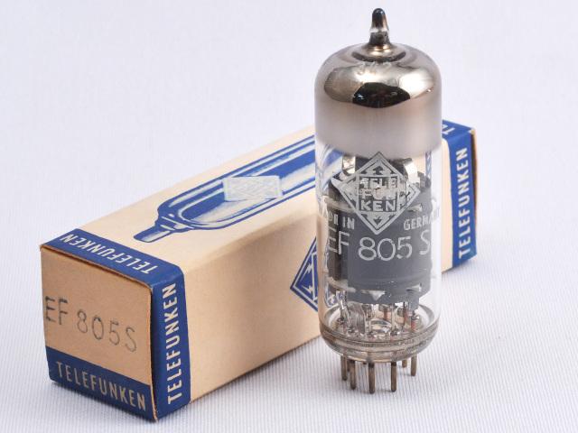 EF805S Telefunken/本 元箱 新品 ◇マークあり