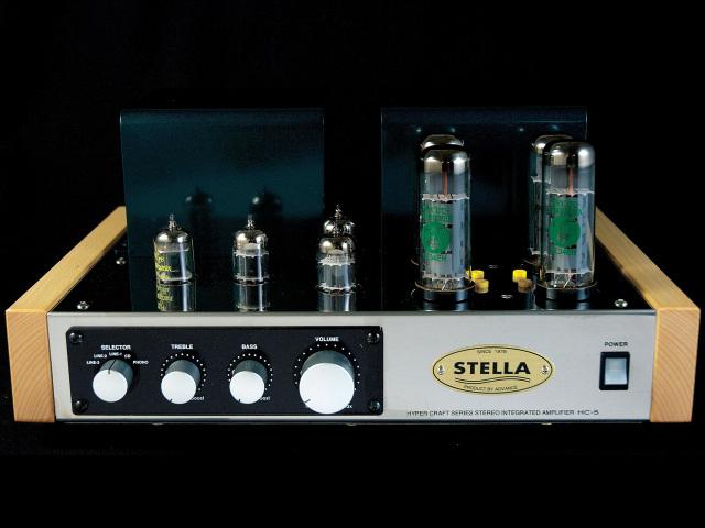 アドバンス 真空管アンプ組立キット EL34(6CA7)PP ステレオプリメインアンプ フォノイコライザー付 HC-5EQ