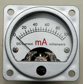 MI-100 100mA電流計