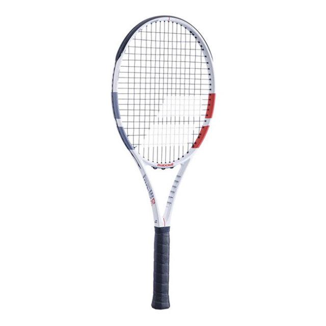 バボラ(Babolat) ストライク エボ (280g) STRIKE EVO 海外正規品 硬式テニスラケット 102414-323ホワイト×レッド×ブラック(20y1m)[AC]