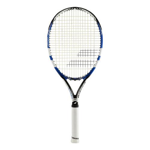 在庫処分特価】バボラ(Babolat) ドライブ115 (255g) 海外正規品 硬式テニスラケット 102243-ブラック×ブル―(19y5m)[NC]