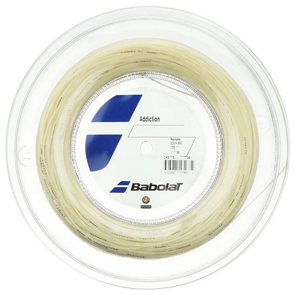 バボラ アディクション(125mm/130mm/135mm)200Mロール 硬式テニス マルチフィラメント ガット(Babolat addiction )243078