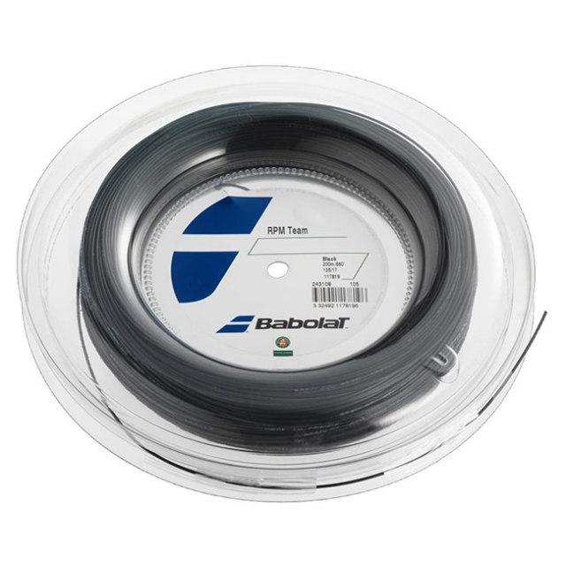 【国内未発売カラーあり】バボラ RPMチーム(125/130) 200Mロール 硬式テニスガット Babolat RPMTeam(200m roll strings)243097