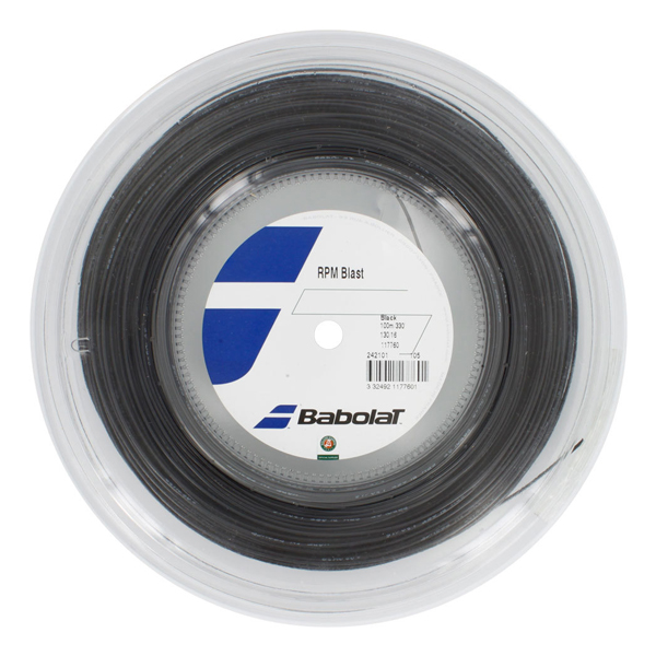 【激スピン】バボラ RPMブラスト(120/125/130/135) 200Mロール 243101 硬式テニス ポリエステル ガット