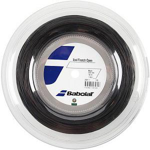バボラ エクセル(ブラック)フレンチオープン(125mm/130mm)200Mロール 243111 硬式テニス マルチフィラメント ガット(Babolat Xcel)(15y8m)