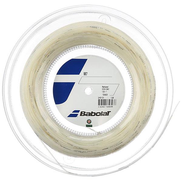 バボラ(Babolat) M7(1.25mm/1.30mm/1.35mm/1.40mm) 200Mロール 243131 マルチフィラメントガット(17y7m)硬式テニスガット
