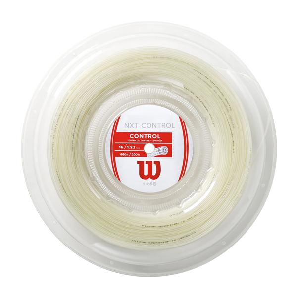 ウィルソン(Wilson) NXTコントロール16(1.32mm) 200Mロール 硬式テニスガット マルチフィラメント NXT Control (ナチュラルカラー)[]