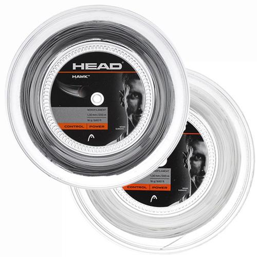 ヘッド ホーク(1.20mm/1.25mm/1.30mm)200Mロール 281113 硬式テニスガットポリエステルガットHead HAWK 200m roll strings(15y8m)