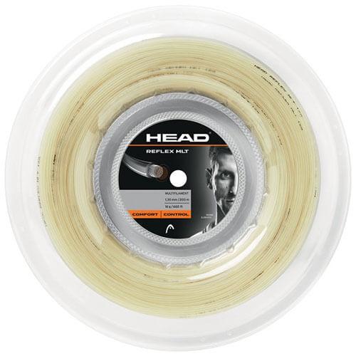 ヘッド リフレックス MLT 200Mロール(1.25mm/1.30mm)硬式テニスガット マルチフィラメントガット281314(Head Reflex MLT String)(16y7m)