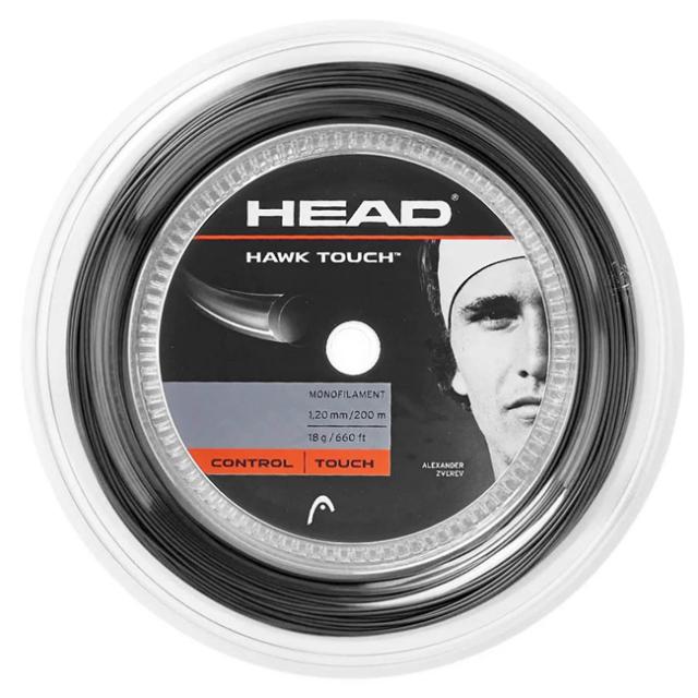 ヘッド(HEAD) HAWK TOUCH ホークタッチ (1.15mm/1.20mm/1.25mm/1.30mm) 200Mロール 硬式テニスガット ポリエステルガット 281234(21y8m)