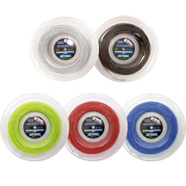 ヨネックス(YONEX) DYNAWIRE ダイナワイヤー (1.25mm/1.30mm) TDW125/TDW130 200Mロール 硬式テニスガット ナイロン モノフィラメントガット(17y5m)