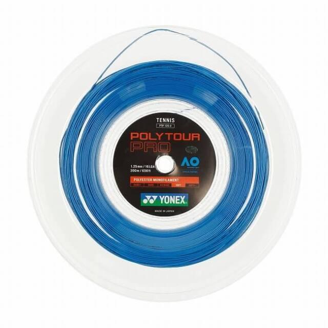ヨネックス(YONEX) ポリツアープロ(1.20mm/125mm/130mm) 200Mロール 硬式テニス ポリエステル ガット※並行輸入品※ PTP120-2/125-2/130-2(20y5m)