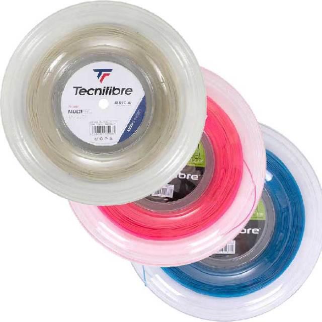 テクニファイバー(Tecnifibre) マルチフィール (1.25mm/1.30mm/1.35mm)200Mロール 硬式テニス マルチフィラメントガット (20y5m)