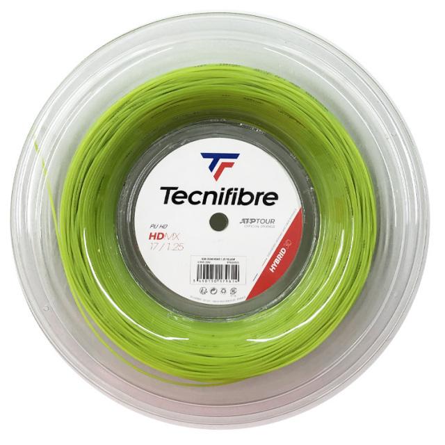 テクニファイバー(Tecnifibre) HDMX (1.25mm/1.30mm/1.35mm) 200M ロール 硬式テニス マルチフィラメントガット (19y9m)