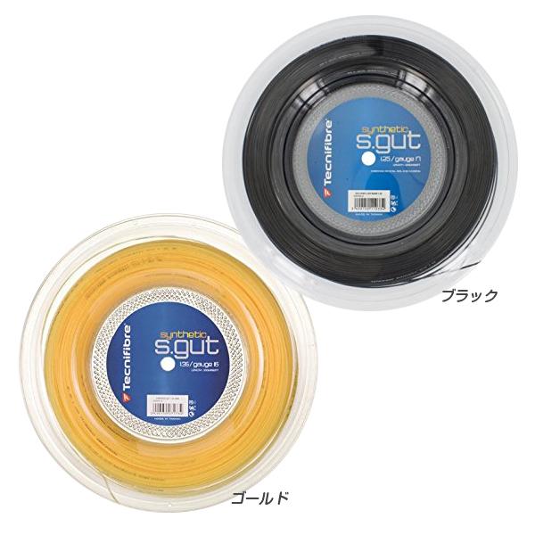 テクニファイバー シンセティックガット(125/130/135)200Mロール 硬式テニス モノフィラメント ガット(Tecnifibre synthetic gut)