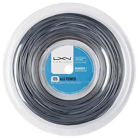 ルキシロン(Luxilon) ALU Power アルパワー(115/120/125/130/138) 220M/200Mロール 硬式テニス ポリエステルガットWR8302101(WRZ990100SI)