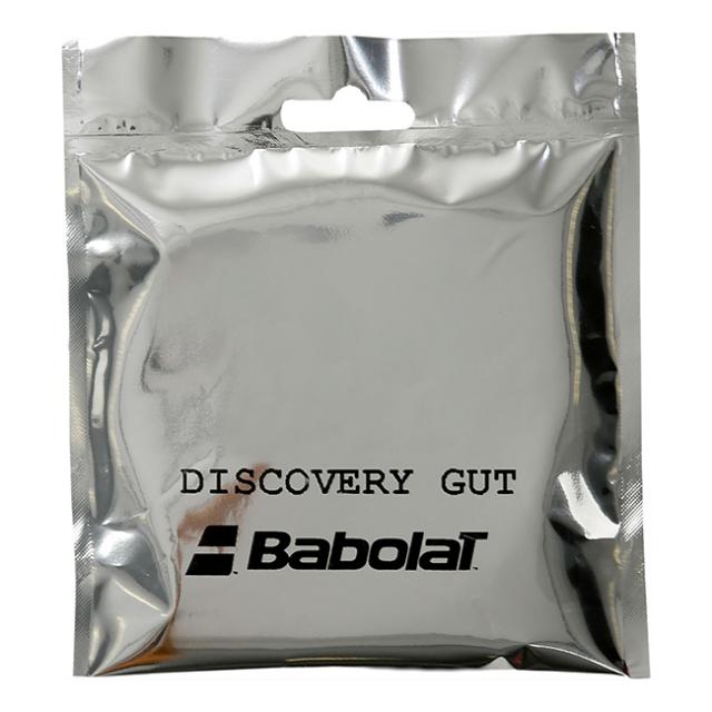 [単張パッケージ品]バボラ(Babolat) DISCOVERY GUT ディスカバリーガット ディスカバリーガット 硬式テニス ナチュラルガット 201005-128 ナチュラル(20y12m)
