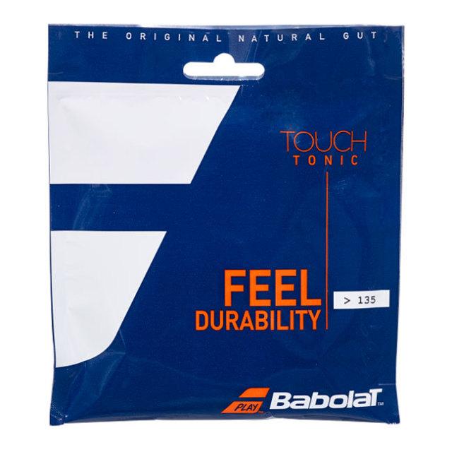 バボラ(Babolat) TOUCH TONIC タッチトニック (<135/>135) 硬式テニスガットナチュラルガット 201032-128 ナチュラル(20y9m)