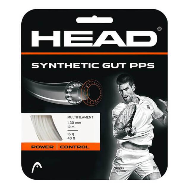 在庫処分特価】[単張パッケージ品]ヘッド(HEAD) シンセティックガットPPS (125/130) 硬式テニスストリング マルチフィラメントガット 281065-WH(21y4m)
