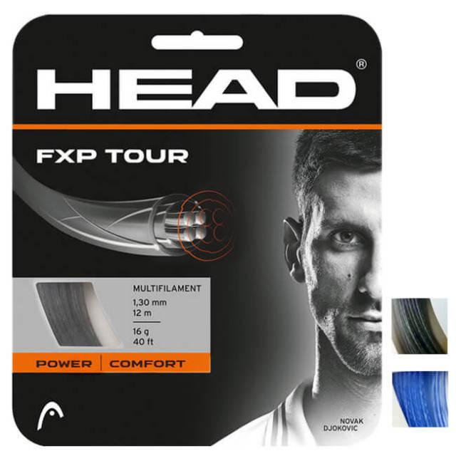 [単張パッケージ品]ヘッド(HEAD) FXP TOUR (エフエックスピー ツアー) (17/1.25mm 16/1.30mm) 硬式テニスストリングマルチフィラメントガット 281202(20y3m)