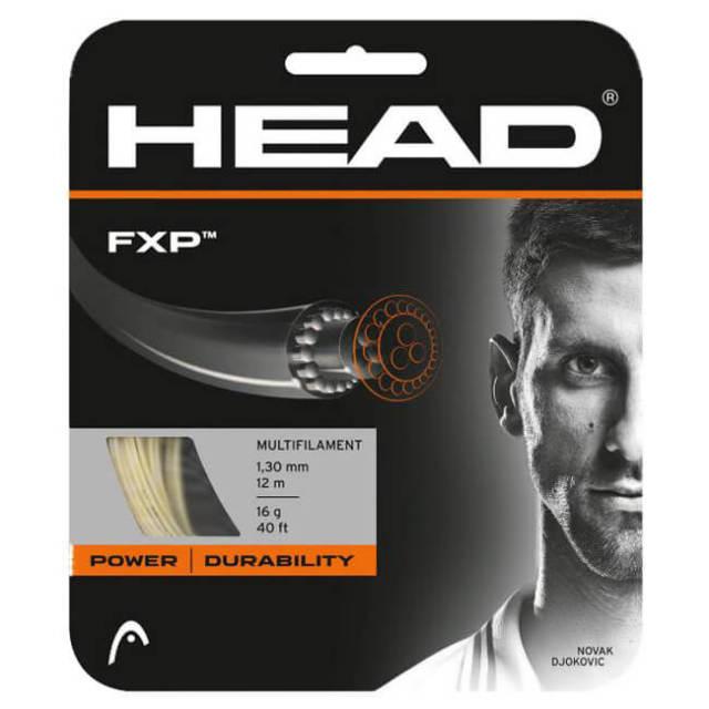[単張パッケージ品]ヘッド(HEAD) FXP (エフエックスピー) (17/1.25mm 16/1.30mm) 硬式テニスストリングマルチフィラメントガット 281006-ナチュラル(20y3m)