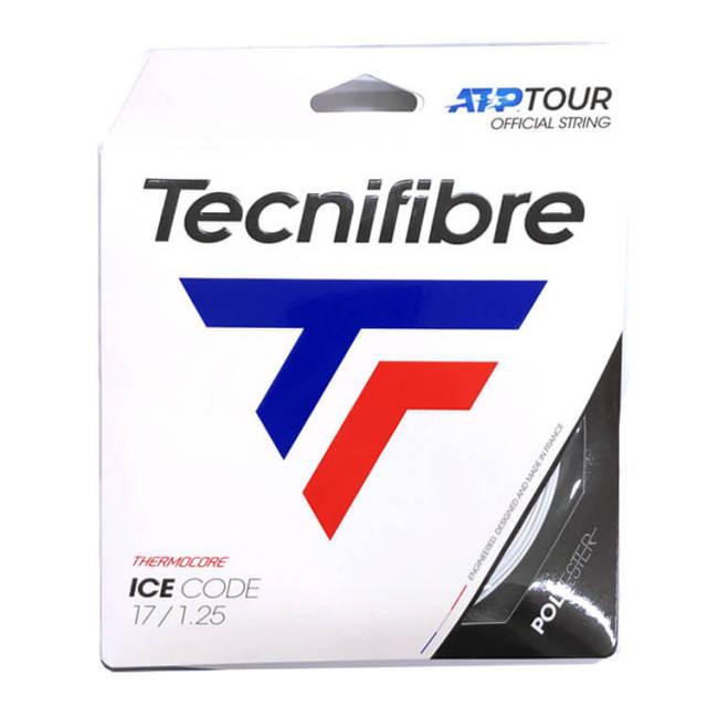[単張パッケージ品]テクニファイバー(Tecnifibre) ICE CODE アイスコード (1.20/1.25/1.30) 12M 硬式テニス ポリエステルガット TFG420/TFG421/TFG422(20y5m)