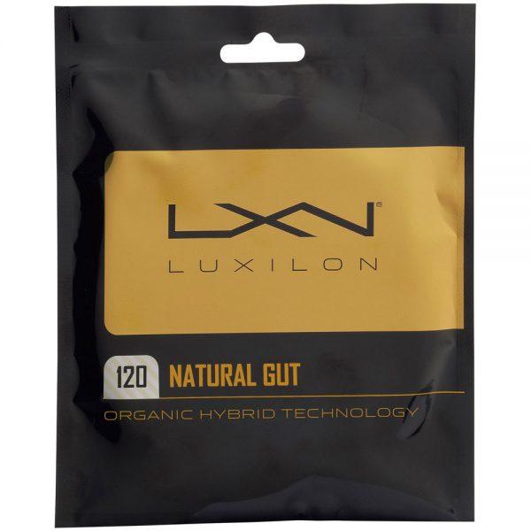 [パッケージ品]ルキシロン(Luxilon) ナチュラルガット 1.20mm WR8302601120(20y6m)