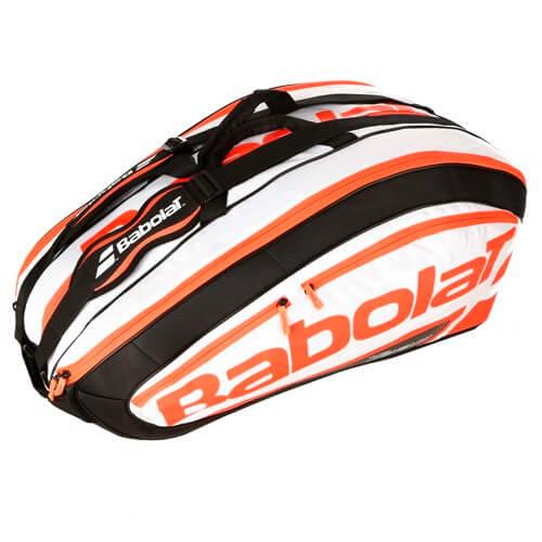 ※海外限定モデル※【12本収納】バボラ(Babolat)チーム エクスクルーシブ ラケットバッグ フルオレッド 756024-198