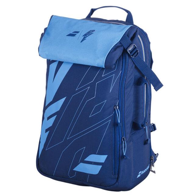 [ラケット収納可]バボラ(Babolat) ピュアドライブ バックパック テニスバッグ 753089-136 ブルー(20y10m)