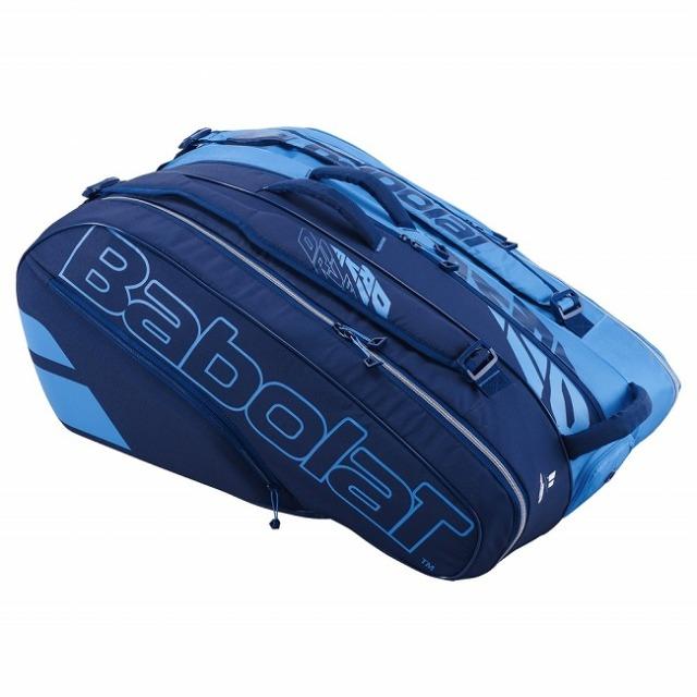 [12本収納]バボラ(Babolat) ピュアドライブ RH×12 ラケットバッグ テニスバッグ 751207-136 ブルー(20y10m)