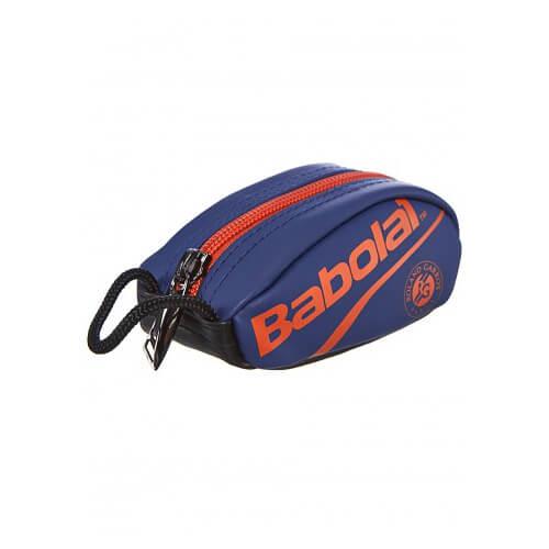 [プレゼントに最適]バボラ(Babolat) 2019 ラケットバッグ型 キーリングポーチ ローラン・ギャロス 742023-655 ダークブルー×オレンジ(19y4m)