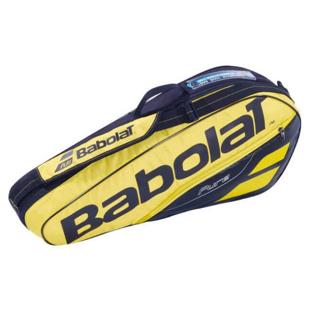 【3本収納】バボラ(Babolat) 2019 ピュアアエロ PURE AERO RACKET HOLDER X3 ラケットバッグ 751183-191(18y10m)