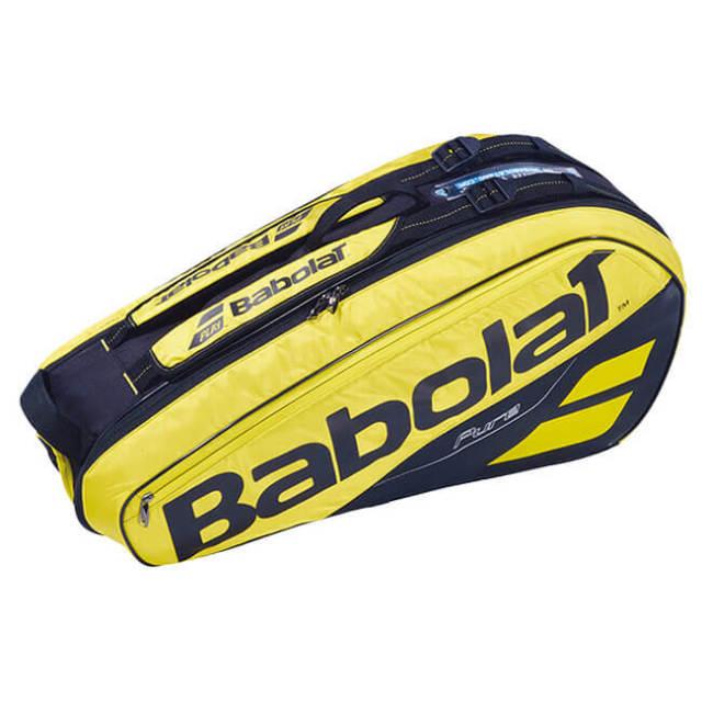 【6本収納】バボラ(Babolat) 2019 ピュアアエロ PURE AERO RACKET HOLDER X6 ラケットバッグ 751182-191(18y10m)