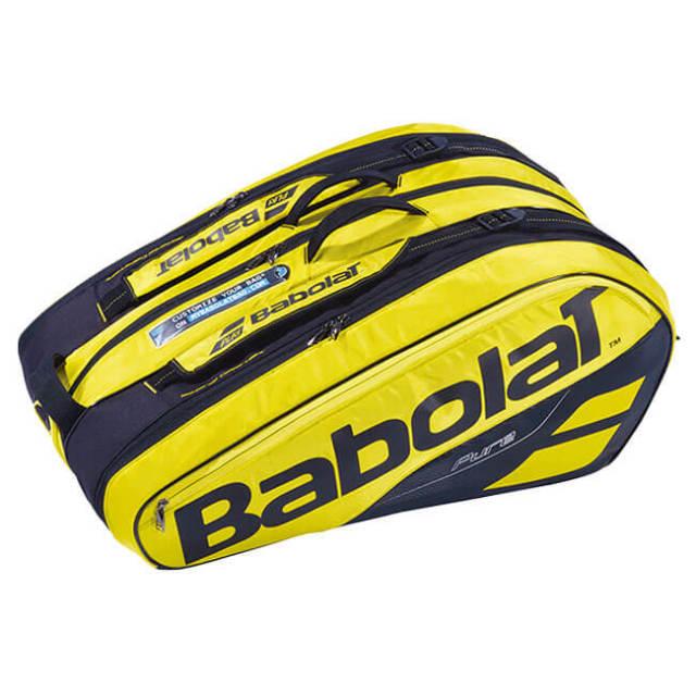 【12本収納】バボラ(Babolat) 2019 ピュアアエロ PURE AERO RACKET HOLDER X12 ラケットバッグ 751180-191(18y10m)