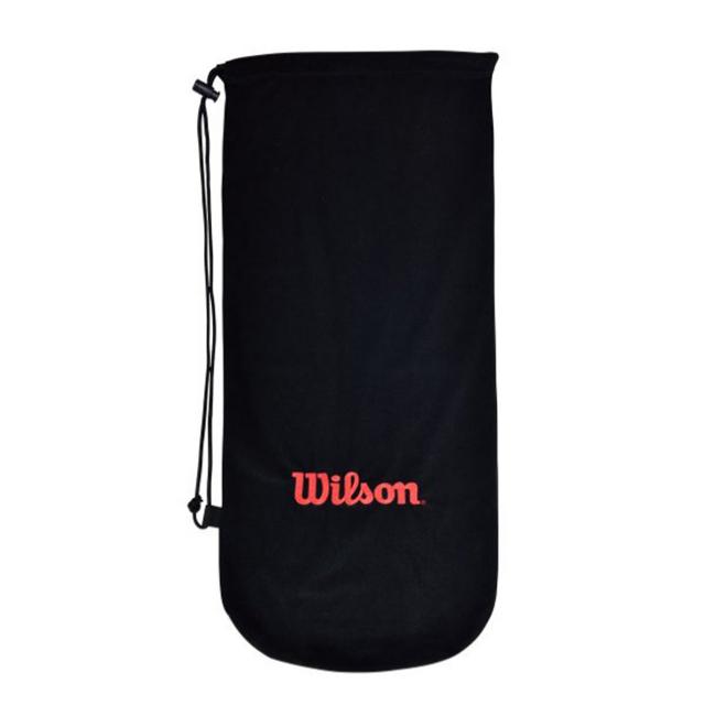ウィルソン(Wilson) 純正ソフトラケットケース (1本収納) 巾着タイプ フルレングスカバー (21y7m)