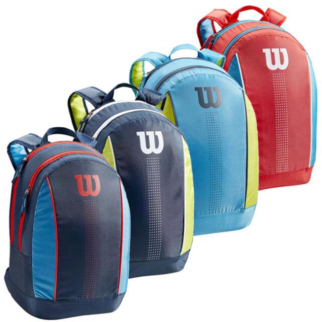 [ジュニア用ラケット収納可]ウィルソン(Wilson) 2021 ジュニア バックパック テニスバッグ WR8012901001/WR8012902001/WR8012903001/WR8012904001(21y5m)