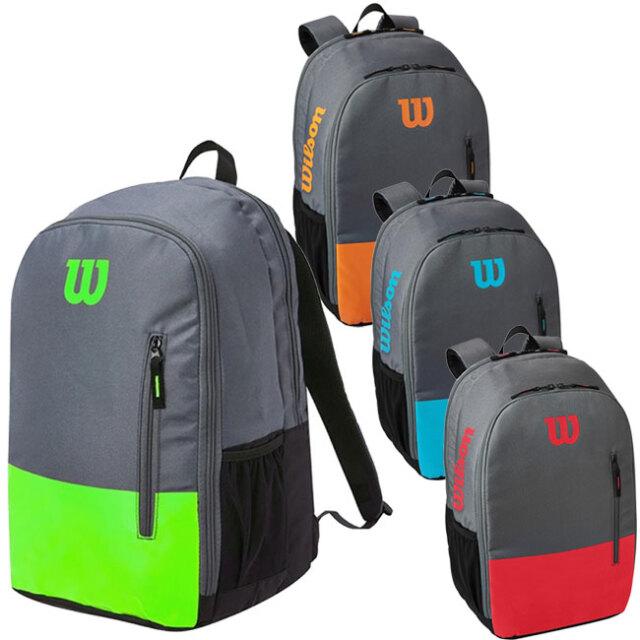 [ラケット収納可]ウィルソン(Wilson) 2021 TEAM チーム バックパック テニスバッグ WR8009901001/WR8009902001/WR8009903001/WR8009904001(21y5m)