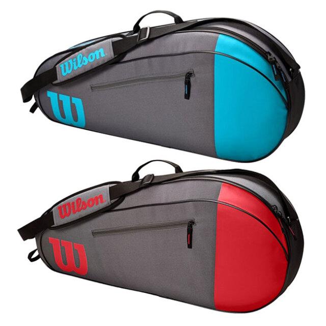 [3本収納]ウィルソン(Wilson) 2021 TEAM チーム 3PK ラケットバッグ テニスバッグ WR8011501001/WR8011502001(21y5m)