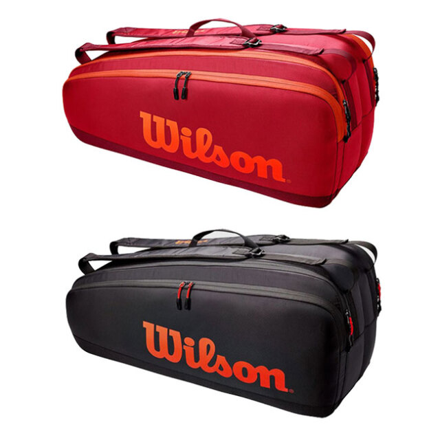 [6本収納]ウィルソン(Wilson) 2021 TOUR ツアー 6PK ラケットバッグ テニスバッグ WR8011301001/WR8011302001(21y5m)